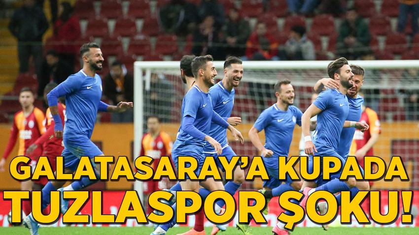 Galatasaray'a kupada 'Tuzlaspor' şoku!