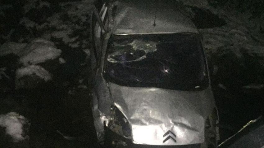 Giresun'da ticari araç dereye yuvarlandı: 1 ölü, 1 yaralı