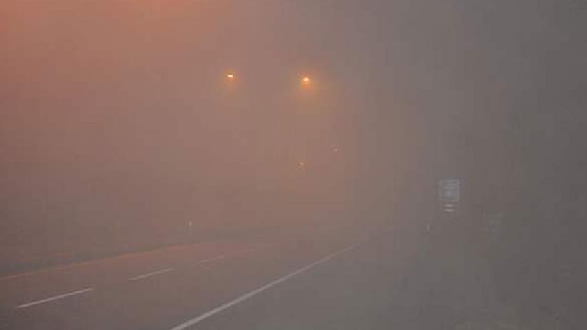 Kırıkkale'de ulaşıma sis engeli