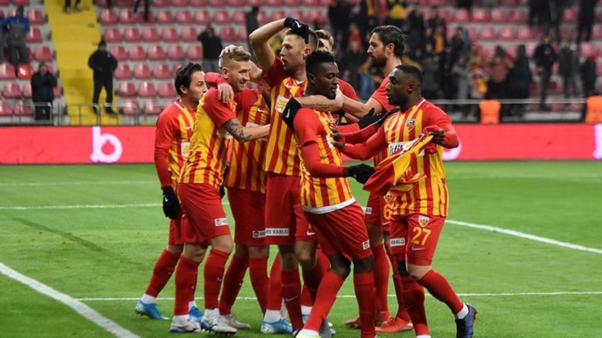 Haftanın kapanış maçı Kayserispor'un