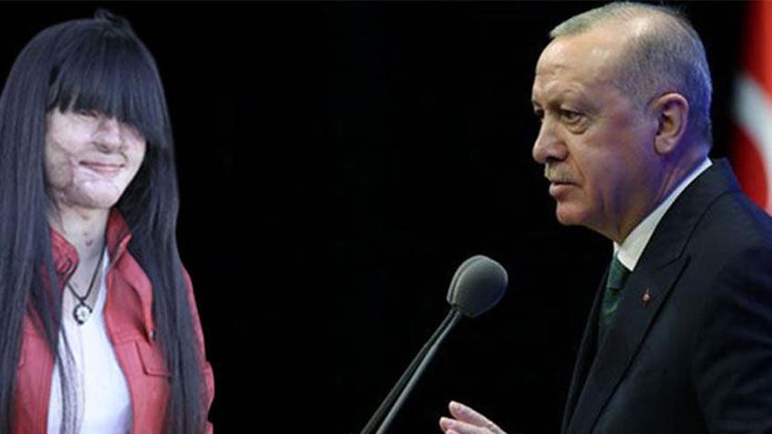 Asitli saldırı mağduru Berfin Özek ve ailesinden Erdoğan'a teşekkür