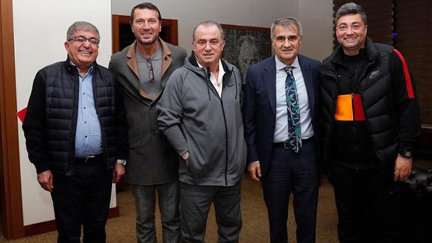 Şenol Güneş, Galatasaray'ın kampını ziyaret etti