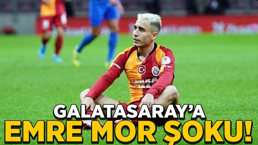Galatasaray'a Emre Mor şoku!