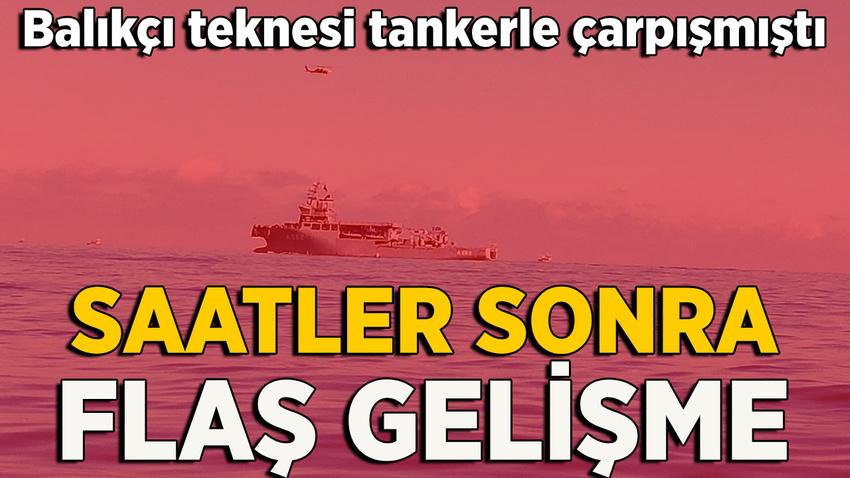Kilyos'ta batan teknede kaybolanlarla ilgili yeni gelişme
