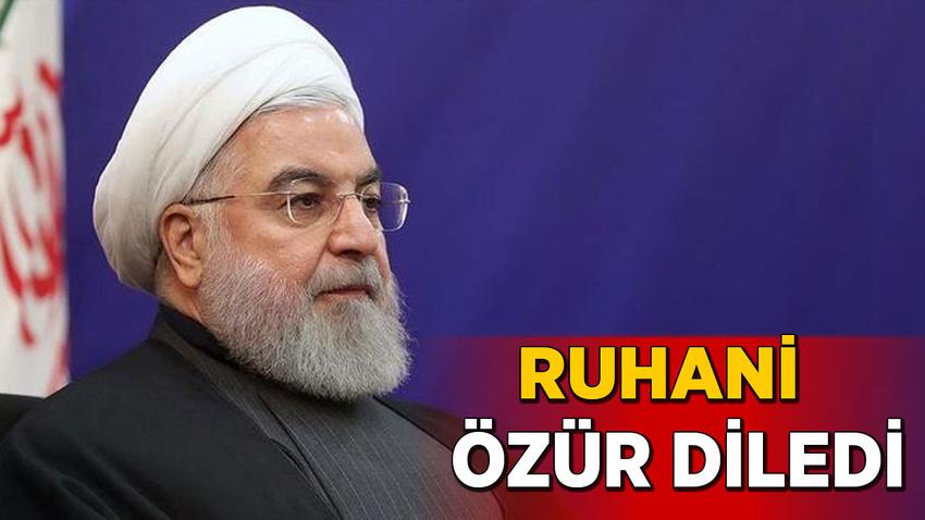 Ruhani, Ukrayna'dan özür diledi