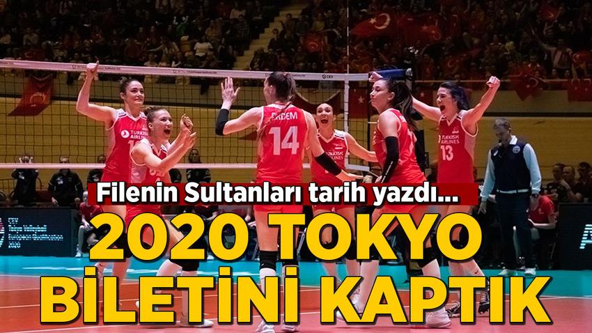 Filenin Sultanları 2020 Tokyo Olimpiyat Oyunları biletini kaptı