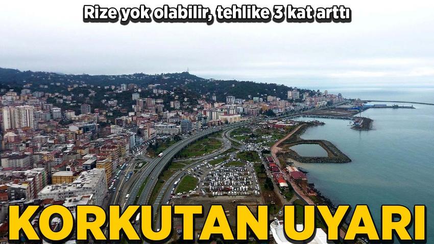 Trabzon ve Rize'nin deprem tehlikesi üç kat arttı