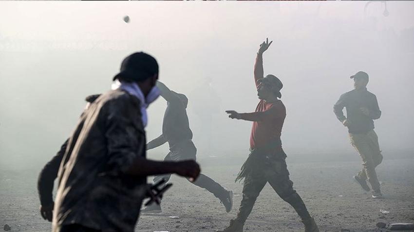 Irak'ta hükümet karşıtı gösterilerde 59 kişi yaralandı