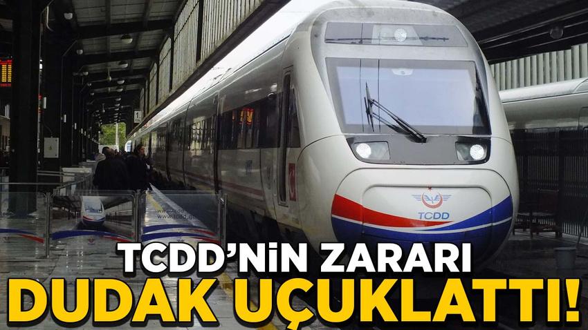 TCDD'nin zararı 2 milyar 558 milyon lira!