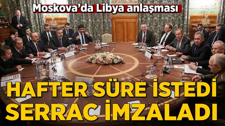 Çavuşoğlu: Hafter tarafı ateşkes için yarın sabaha kadar süre istedi