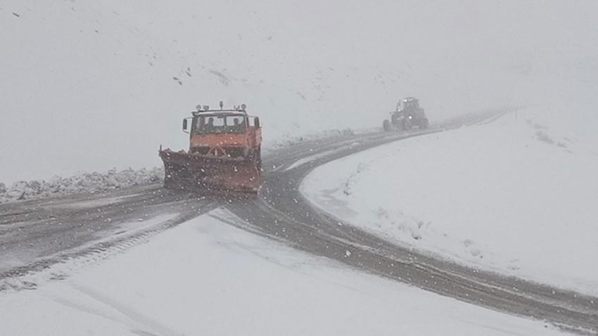Van için kuvvetli kar yağışı uyarısı