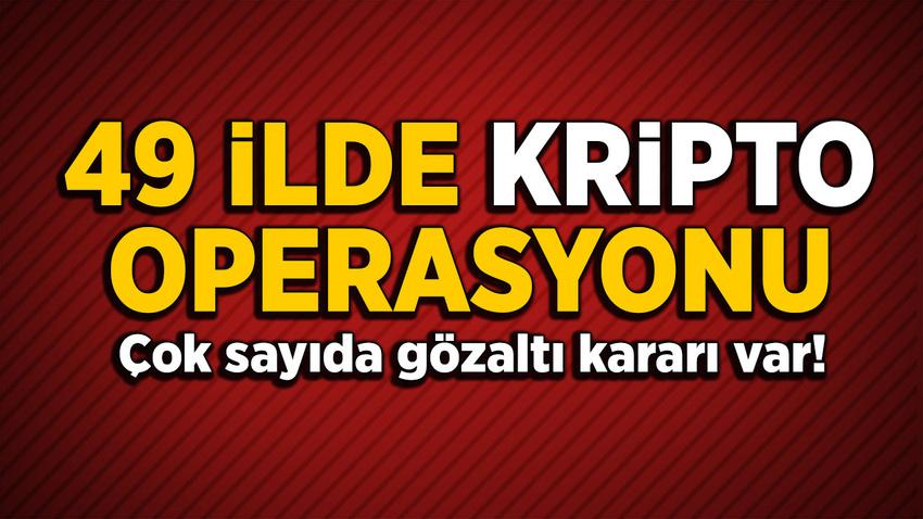 İzmir merkezli 49 ilde FETÖ operasyonu: Çok sayıda gözaltı kararı var