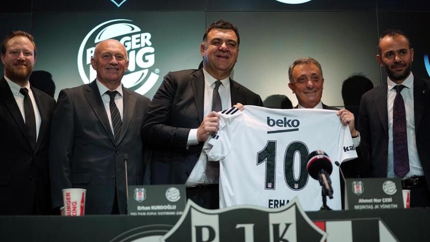 Beşiktaş'a yeni sponsor! Çebi imzaladı