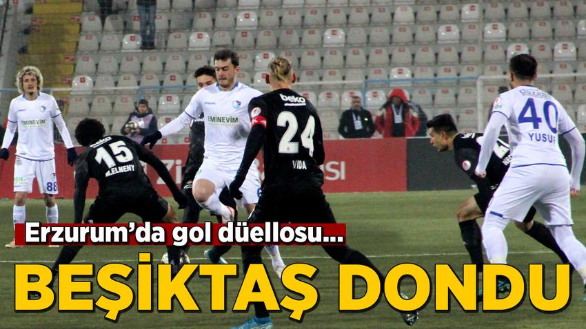 Beşiktaş Erzurum'da dondu