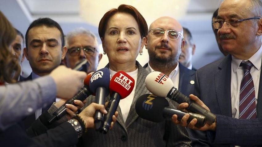 Akşener: Güçlendirilmiş parlamenter sistem Türkiye'ye nefes aldırır