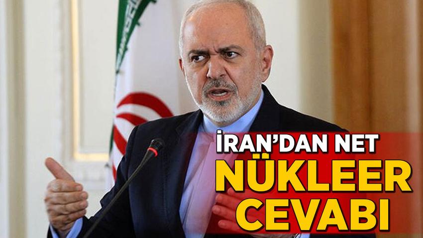 İran'dan net nükleer anlaşma cevabı