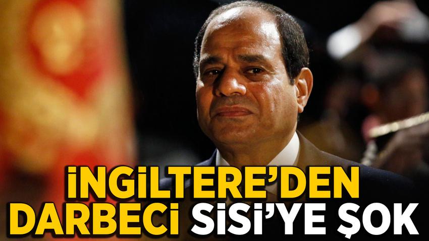 İngiltere'de Sisi'ye şok! Hakkında tutuklanma emri çıkarılması istendi
