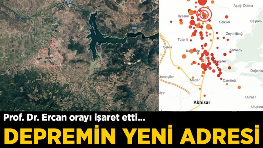 Prof. Dr. Ercan açıkladı: Depremin yeni adresi Sındırgı olur