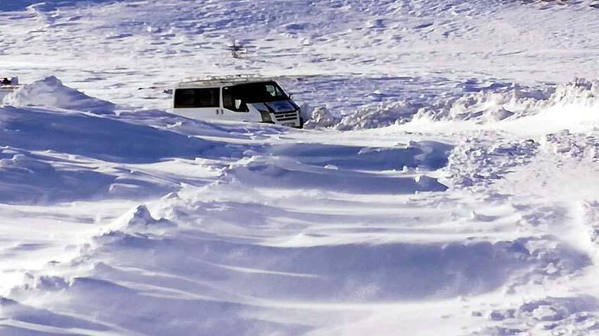 388 köy yolu ulaşıma kapandı