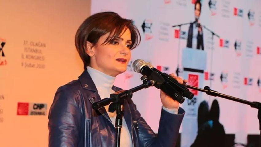 CHP İstanbul İl Başkanlığına yeniden Canan Kaftancıoğlu seçildi
