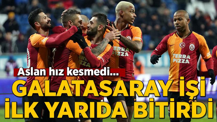 Aslan hız kesmedi... Galatasaray adım adım zirveye yürüyor