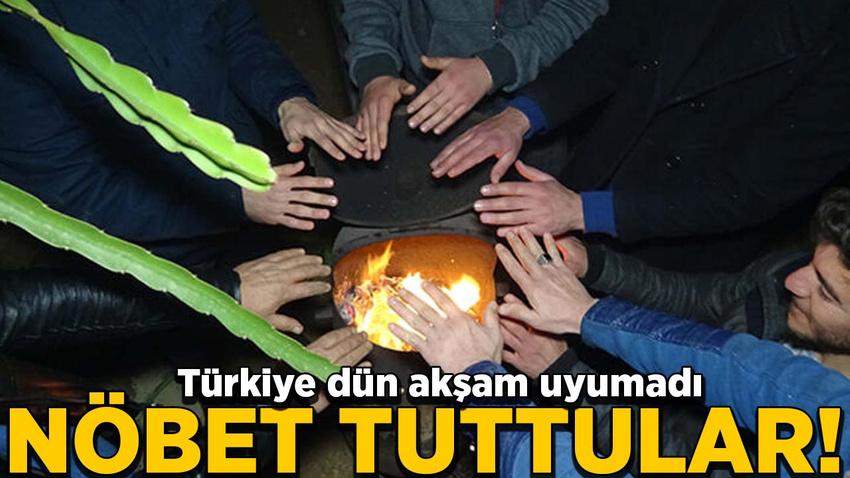 Türkiye dün akşam uyumadı! Nöbet tuttular