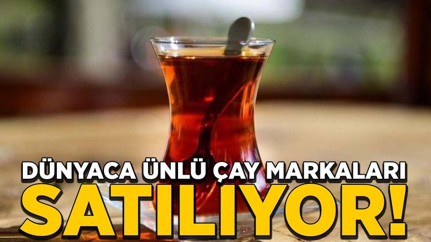 Unilever dünyaca ünlü çay markalarını satıyor