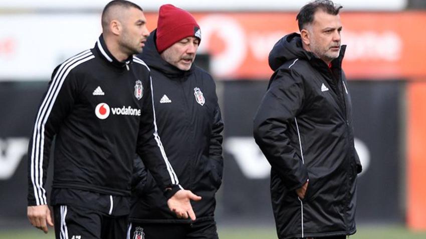 Sergen Yalçın Beşiktaş'ta 4 futbolcunun biletini kesti