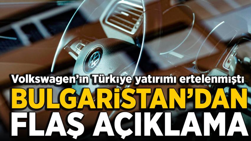 Bulgaristan'dan flaş Volkswagen açıklaması: Hala yarışın içindeyiz