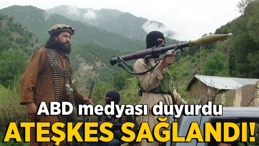 ABD ile Taliban arasında ateşkes