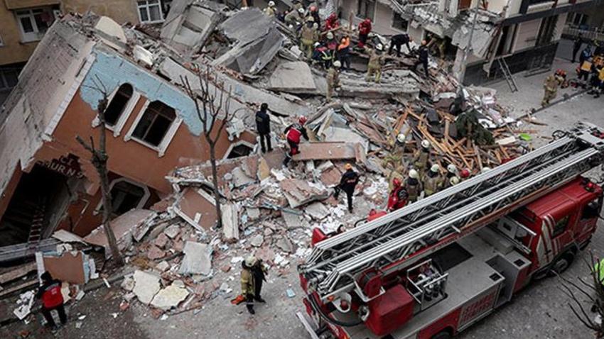 Belediye açıkladı: Tedbir amaçlı 5 bina boşaltıldı
