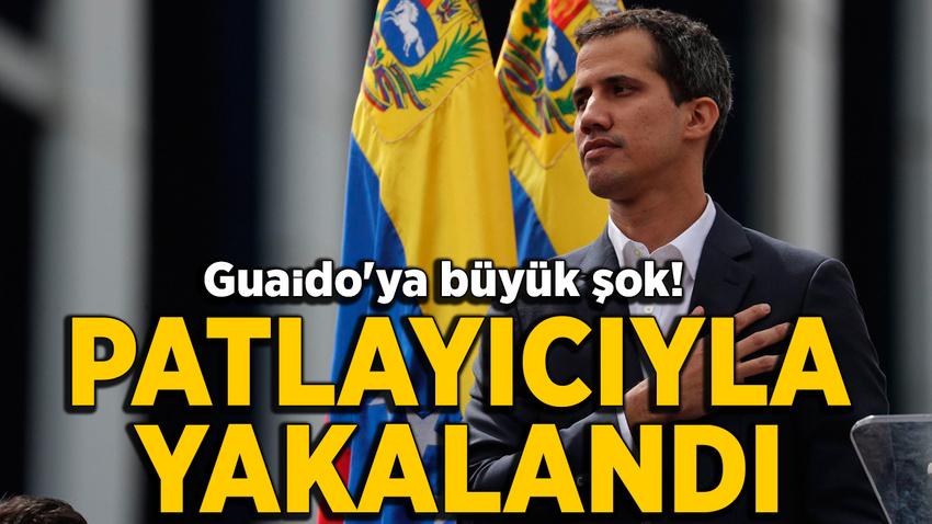 Venezüella'da muhalefet lideri Guaido'nun amcası patlayıcılarla yakalandı