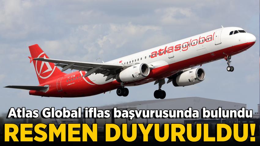 Atlasglobal Havayolları resmen iflas başvurusunda bulundu