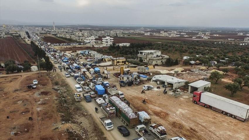 BM: İdlib'de son 3 ayda 830 bin kişi yerinden edildi