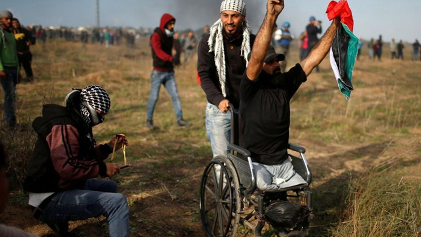 Filistinli engelli Ebu Süreyya'nın son sözleri