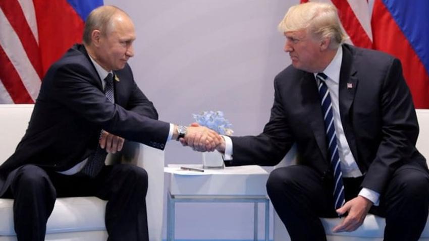 Putin'den Trump'a teşekkür telefonu