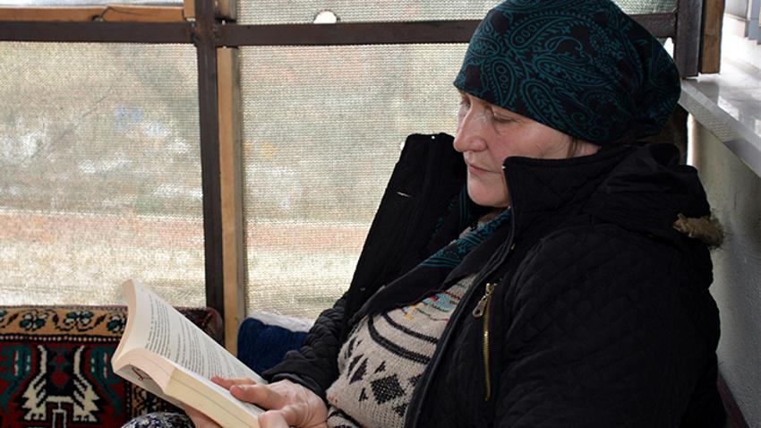 Çiftçi Bedriye 'sıra dışı okur' seçildi