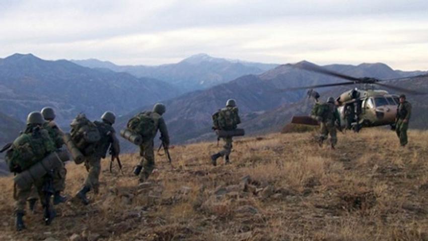 Sınırda havanla saldırdılar... Çukurca'da 3 terörist öldürüldü