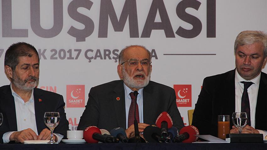 Saadet Partisi 2019'da kendi adayını çıkaracak