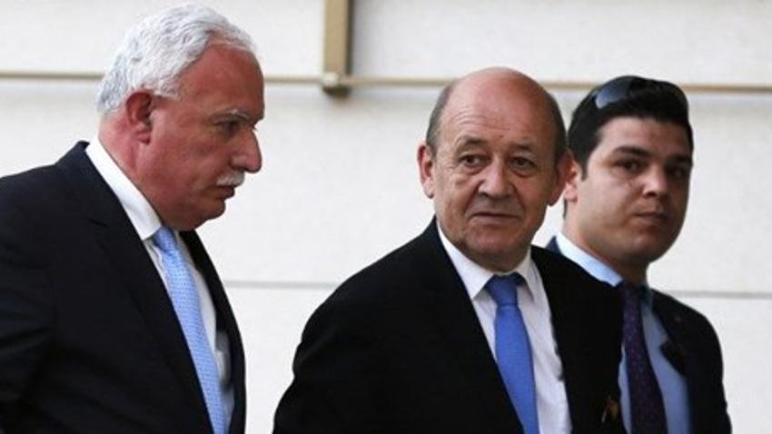 Fransa ile Filistin arasında işbirliği anlaşmasına imzalar atıldı