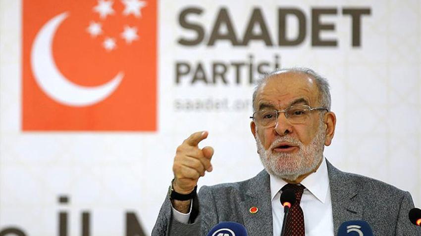 Saadet Partisi'nden Erdoğan'a dikkat çeken çağrı