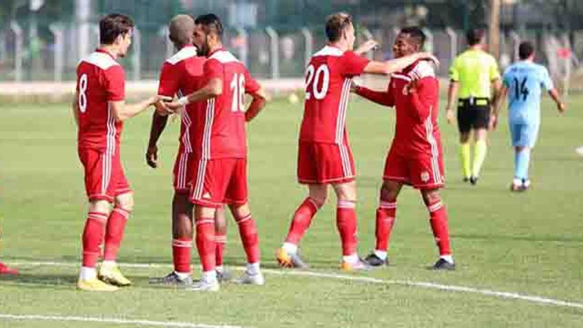 Sivasspor hazırlık maçında galip geldi