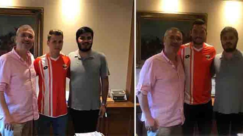Feczesin ve Bumba Adanaspor'da