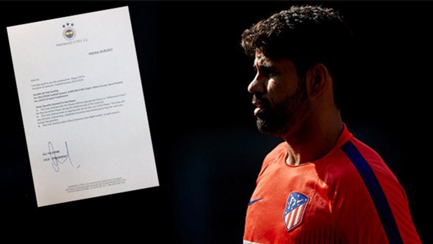Yıldırım yönetiminden Diego Costa'ya teklif!