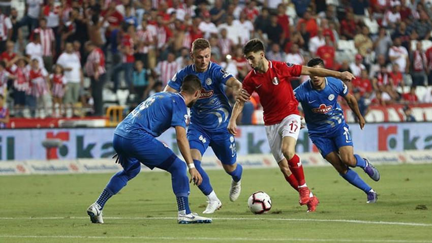 Antalyaspor'dan müthiş geri dönüş