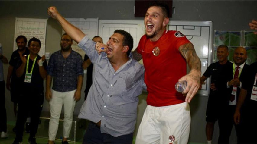Antalyaspor'da 3 puan coşkusu