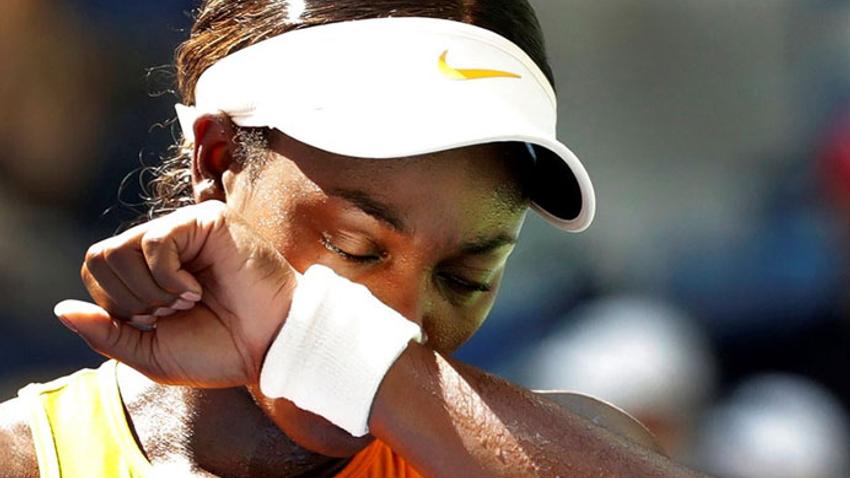 Son şampiyon Stephens ABD Açık'ta çeyrek finali geçemedi
