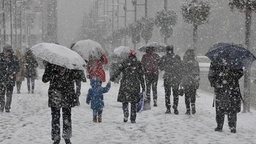 Meteoroloji'den kuvvetli rüzgar ve kar sürgünü uyarısı