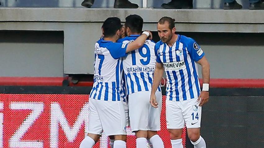 Göztepe ateşe düştü! Kritik maçın galibi BB Erzurumspor