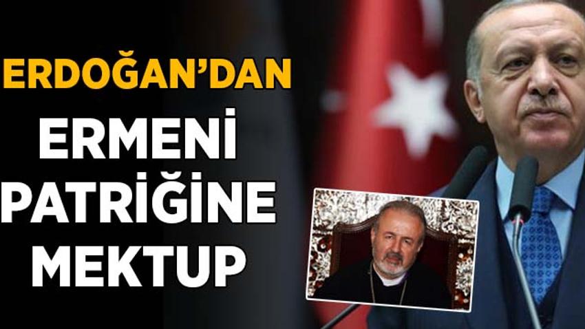 Erdoğan'dan, Ermeni Patriğine mektup